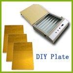 DIY Hot Foil Stamping Plate Making Kit (Uv Exposure & A4 Photopolymerplate) by Hot Foil Stamping