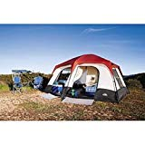 Camping-Hiking-Complete-Bundle-8-Person-Tent-Air-Mattress-Air-Bed-Coleman-48-Quart-Cooler