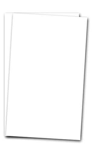 8 1/2'' x 14'' Legal Size Card Stock Paper - 250 Sheets - 65lb Cover Cardstock - Perfect for Documents, Programs, Menus by S Superfine Printing