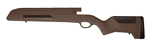 ATI Mauser Stock Mount Buttpad, Brown