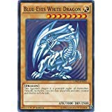 (Yugioh 1st Ed Blue-Eyes White Dragon SDK art LDK2-ENK01 Common 1st Edition Legendary Decks II)