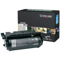 Lexmark 12A7469 Black Extra High Yield Return Program Laser Toner Cartridge for Special Label Applications - Black Extra High Capacity, Works for T632dtn, T632dtnf, T632N, - High Label Capacity Extra