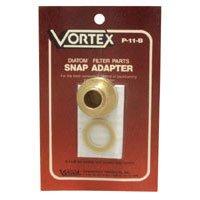 Vortex P-11-B snap adaptor brass Part 000635