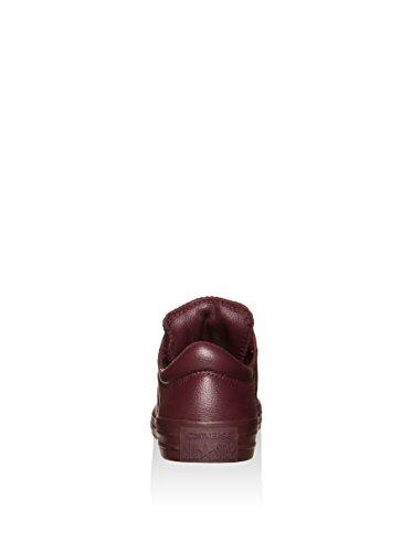 Converse Kvinna Madison Läder Låg Top Sneaker Djup Bordeaux,