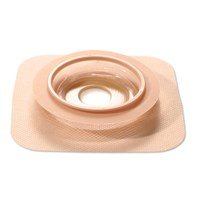 51421040BX - Natura Moldable Durahesive Skin Barrier Accordion Flange with Hydrocolloid Flexible Collar, Opening 7/8 to 1-5/16 (22 33mm), Flange 2-1/4 (57mm)