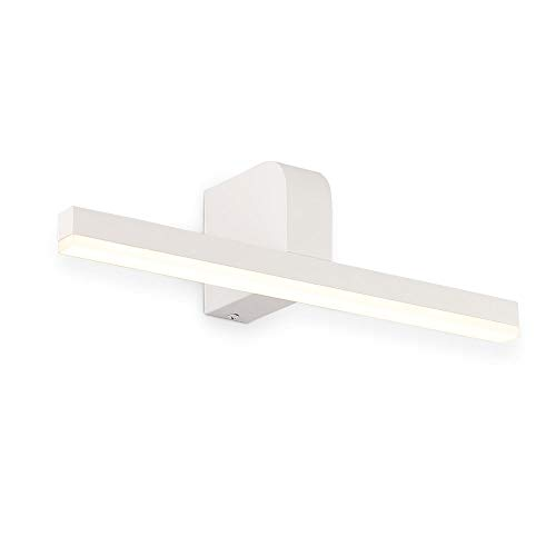ECOBRT LED Vanity Lights in Bathroom, Modern White Wall Lights Over Mirror 14W 980lm 60CM Long