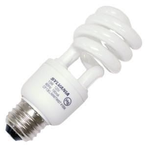 (OSRAM Sylvania GIDDS-611132 611132 Dulux El Spiral Compact Fluorescent Lamp, Mini, 13W, 4100K, 82 CRI, Medium Base, 120V s)