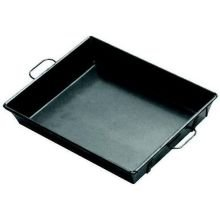 Johnson-Rose 16 Inch X 18 Inch X 3-1/2 Inch Steel Roasting Pan