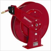 Reelcraft 7925 Olp Heavy Duty Spring Retractable Hose Reel  3 4  X 25  250 Psi  Air Water Hose Included