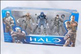 Halo McFarlane Toys 10th Anniversary Action Figure 3Pack Fearless Leaders Buck, Forge Carter