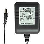 Jameco Reliapro ADU240100D5531 AC to AC Wall Adapter Transformer 24V @ 1000 mA Straight 2.1 mm Female Plug, Black
