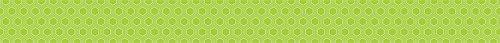Math Border Trim (Creative Teaching Press HexaFun Lime Green Mini Hexagons Border (7115))