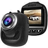 Onlylife Dash Camera Mini Dash Cam for Cars Full HD 1080Pand 168°Wide Angle Dashboard T603 Camera Camera with 6 Lens, G-sensor, Loop Recording, Motion Detection Car Camera