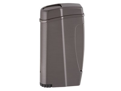 Xikar Executive II Lighter-Single Jet Flame in Gun Metal ()