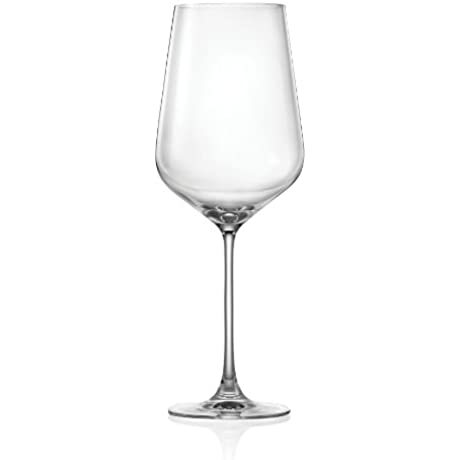 Lucaris Hong Kong Hip Bordeaux Wine Glass 26 Ounce Set Of 4