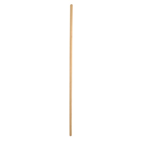 Jantex CD800 Wooden Broom Handle, Handle Size: 102 mm, 4' 4 Nisbets