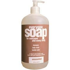 EO Products - Unscented Everyone Soap (2-32 FZ) Unscented Everyone Soap