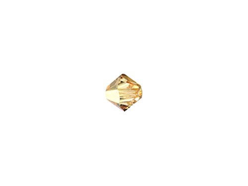 Wholesale Swarovski 4mm XILION Bicones Crystal Metallic Sunshine (100 Beads)