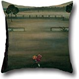 Throw Pillow Case Of Oil Painting Julio Romero De Torres - Panneau (Panel) 20 X 20 Inches / 50 By 50 Cm,best Fit For Kids Girls,dining Room,teens Boys,floor,gf,kids Twin Sides