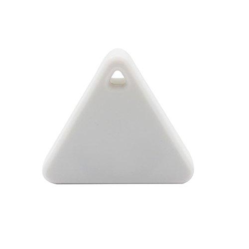 Smart Bluetooth Tracer Pet Child Wallet Key GPS Locator Tag Alarm(White) - 2