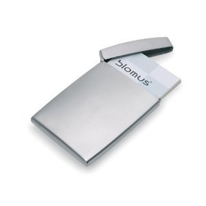 Clever Business Cards (Blomus Deluxe Stainless Steel Business Card Holder)