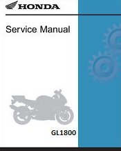 Price comparison product image Honda Goldwing GL1800,  GL1800A,  2001-2005,  Repair Service Manual CD / DVD / PDF