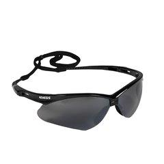 Black Jackson Safety V30 Nemesis Safety Eyewear - Smoke Mirror (20/Pack) - - Eyewear Mirrors Smoke And