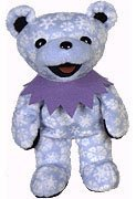 Grateful Dead Bean Bear Snowflake Teddy - Teddy Snowflake Bear