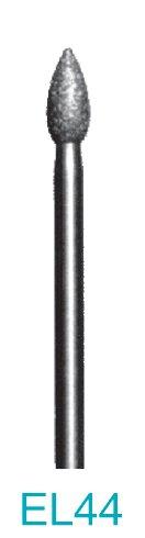 EL44 - 200 Grit Diamond Bur - 3/32