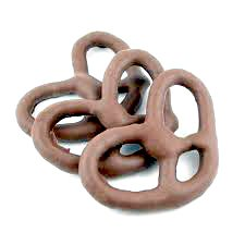 Chocolate Asher Pretzels (Asher's Milk Chocolate Covered Pretzels, 16 Oz. (1 Lb))
