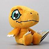 Digimon Adventure Agumon Soft Plush Figure Toy Anime Stuffed Animal 4 Inch Child Gift Doll