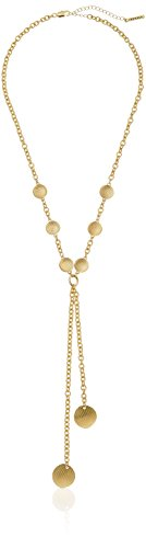 t-tahari-gold-textured-disc-y-shaped-necklace-24-2-extender