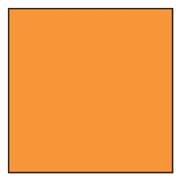 Lee Filters 3x3'' Yellow Orange #16 Polyester Filter for Black & White Film by Lee Filters