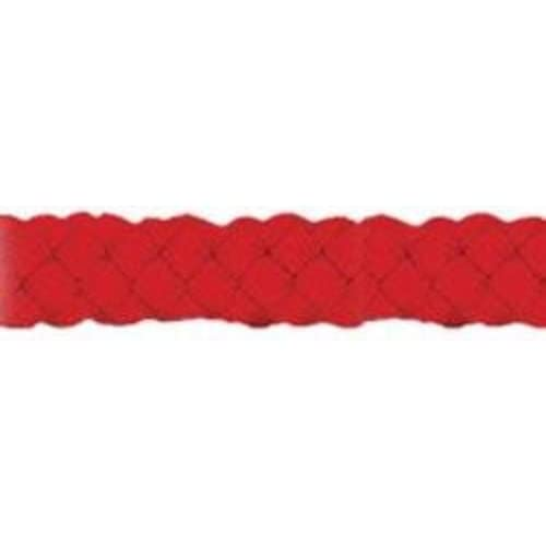 Pepperell Red-Macrame Cord 4 mm 50Y, Acrylic, Multicolour, 7.11x16.3x7.11 cm