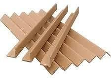 Size: 50mm x 50mm x 1.2meter Thickness: 4mm Amount: 240 Lengths Masterline Cardboard Edge Guards // Pallet Protectors