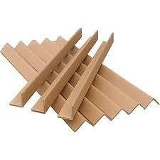 Masterline Cardboard Edge Guards / Pallet Protectors - Size: 35mm x 35mm x 1.5meter - Amount: 40 Lengths - Thickness: 3mm