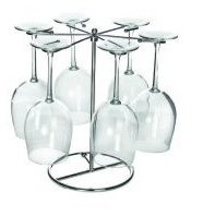 Six Wine Glass Drying Rack