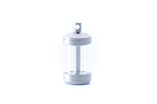 TEC-T323-3W Isotope Reactor Fob - Titanium housing Holds Three 3x23mm tritium vials