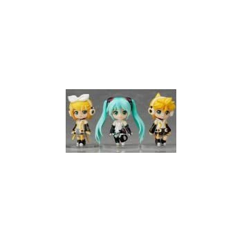 "Petit Miku Rin Len Append set lottery Good Smile Nendoroid ""Hatsune Miku 2012 Winter Ver."" C Awards"