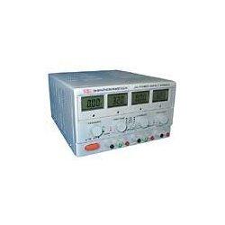 Stromversorgung, Labortisch, digital, 2x 30 VDC @ 3a, 5VDC @ 3a, 195 Watt, 4-Meter-