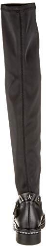 001 Cuissardes Fersengold 298 Femme 599 Schwarz Noir Aqnp8Owz