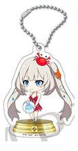 Fate Grand Order FGO Duel Collection Caster Marie Antoinette Character Mini Acrylic Charm Key Holder Keychain FGO Anime Girl Art