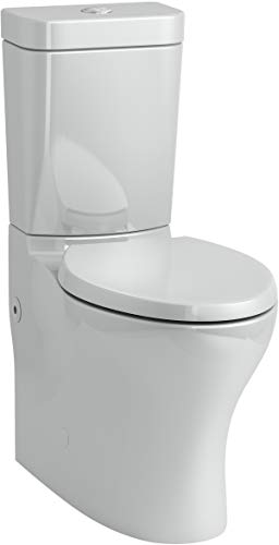 KOHLER 3815-95 Persuade Toilet, Ice Grey -