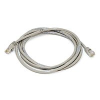 7FT Cat5e 350MHz Crossover Ethernet Network Cable - Gray