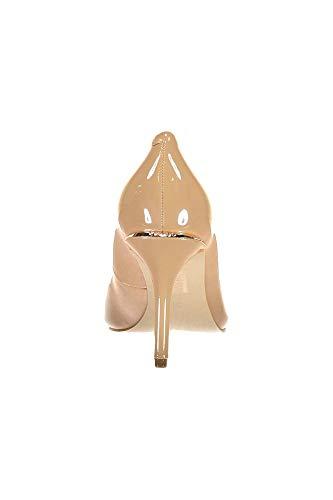 Guess Barett2 Punta leath De decollete Para Zapatos Con Cerrada Nude Mujer Tacón pump UZwUr