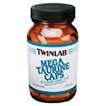 TWINLAB TAURINE 1000MG,MEGA, 50 CAP