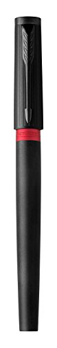 PARKER Ingenuity 5th Technology Pen, Deluxe Black Red, Medium Point with Black Ink Refill by Parker (Image #5)