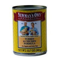 Newmans Own organic anic Dog Can Turkey & Chicken, 5.5 oz