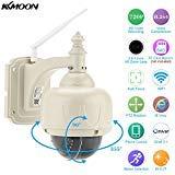 KKmoon Wireless WiFi HD 720P Pan Tilt IP Camera Auto-focus PTZ Outdoor & Indoor Security IP CCTV Camera from KKmoon