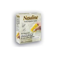Nasaline Salt Box of 50 ( Multi-Pack) by Nasaline